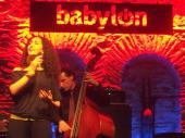 Jazzerin Defne Sahin im Babylon in Istanbul (Bild: gw)