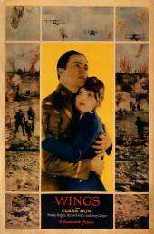 Plakat zu WINGS (USA 1927, R: William A. Wellman) Quelle: A.M.P.A.S. ®